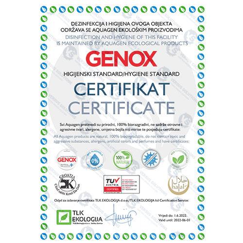 Pripremite svoj objekt za turističku sezonu uz Genox higijenski standard